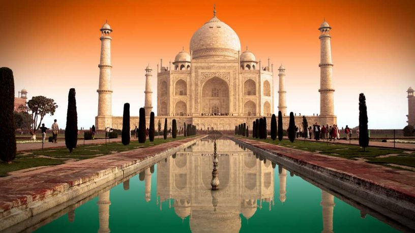 A Short History of the Taj Mahal Garden